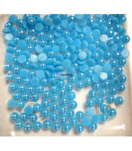 Semiperlas Azul Claro