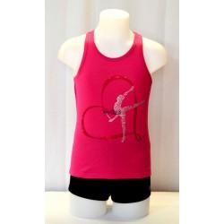 Camiseta Nadador Fucsia