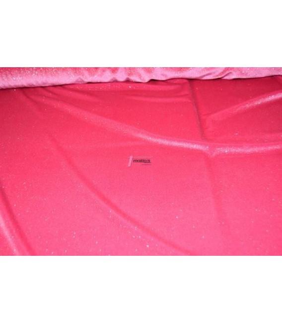 Terciopelo rosa con brillo