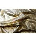 Terciopelo Foil Dorado