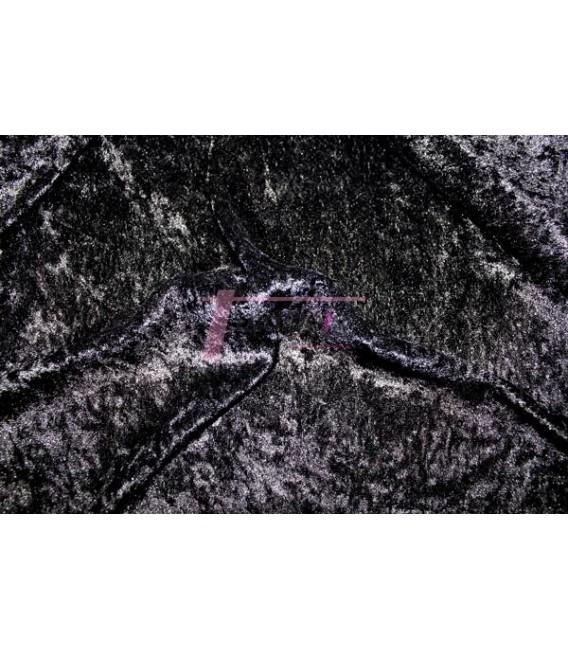Terciopelo Foil Negro