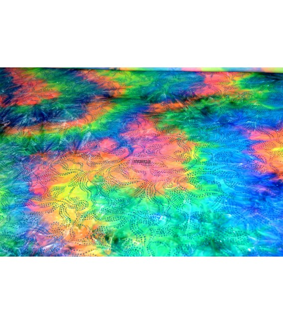 Multicolor con brillos