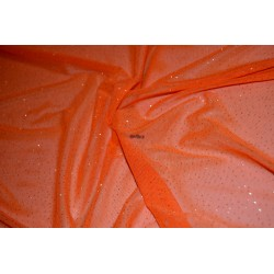 Tul Brillo Naranja
