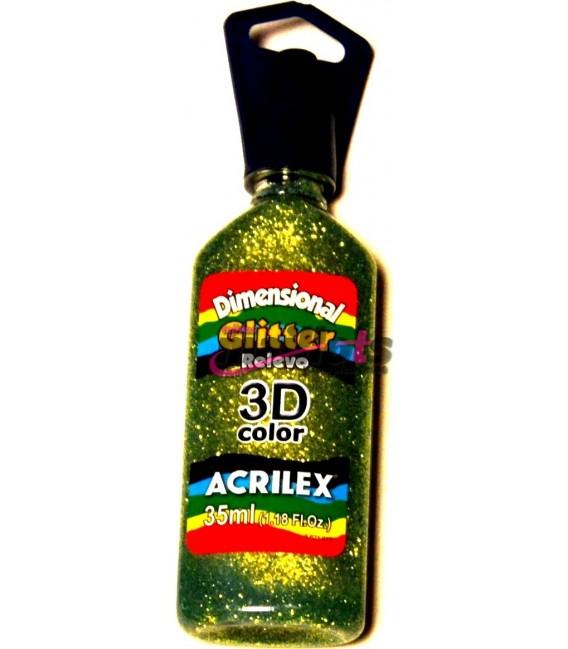 Glitter Verde Cítrico