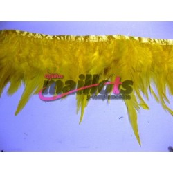 Fleco Plumas Amarillo