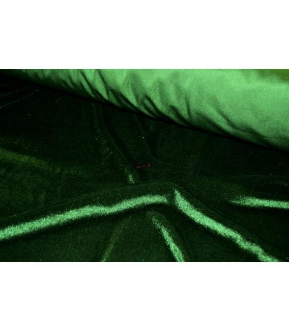 Terciopelo verde oscuro