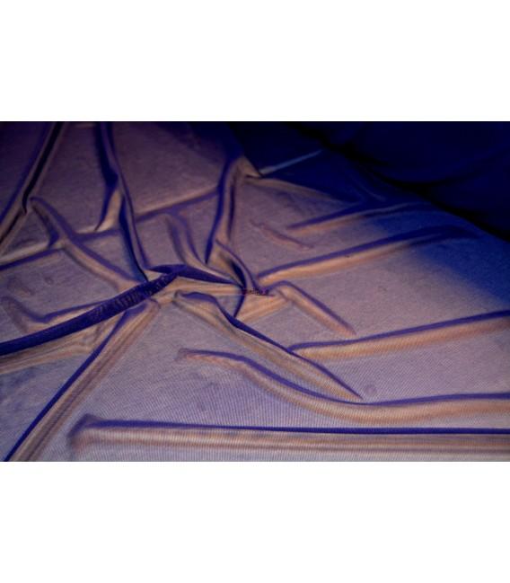Tul Transparente Azul Noche