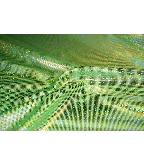 Holograma verde flúor