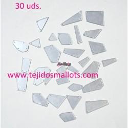 Cristal Espejo mezcla de formas