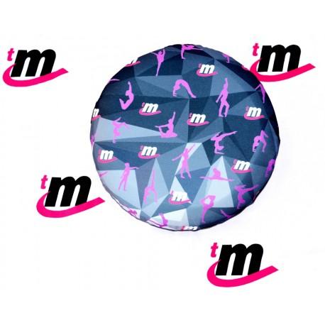 Almohadón de Entrenamiento con Protección Lumbar Diamante Gris