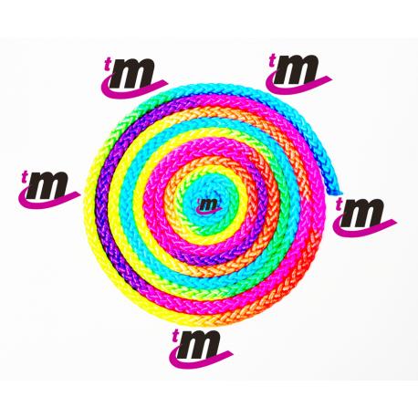 Cuerda Rítmica Multicolor Flúor TM