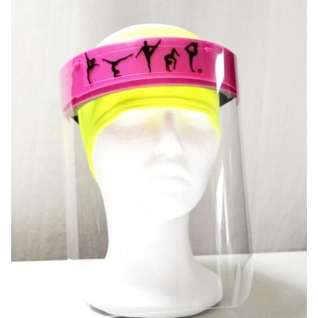 Pantalla Protección Facial Fucsia