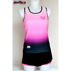 Camiseta Tirantes TM Fucsia con Top integrado