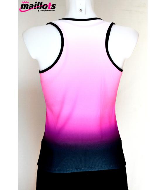 Camiseta Tirantes TM Fucsia con Top integrado