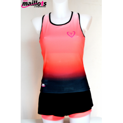 Camiseta Tirantes TM Top integrado Coral