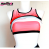 Camiseta Tirantes TM Coral con Top integrado