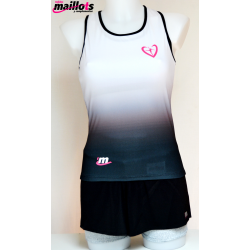 Camiseta Tirantes TM Gris con Top integrado