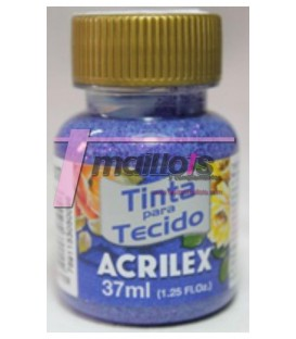 Acrilex violeta brillos